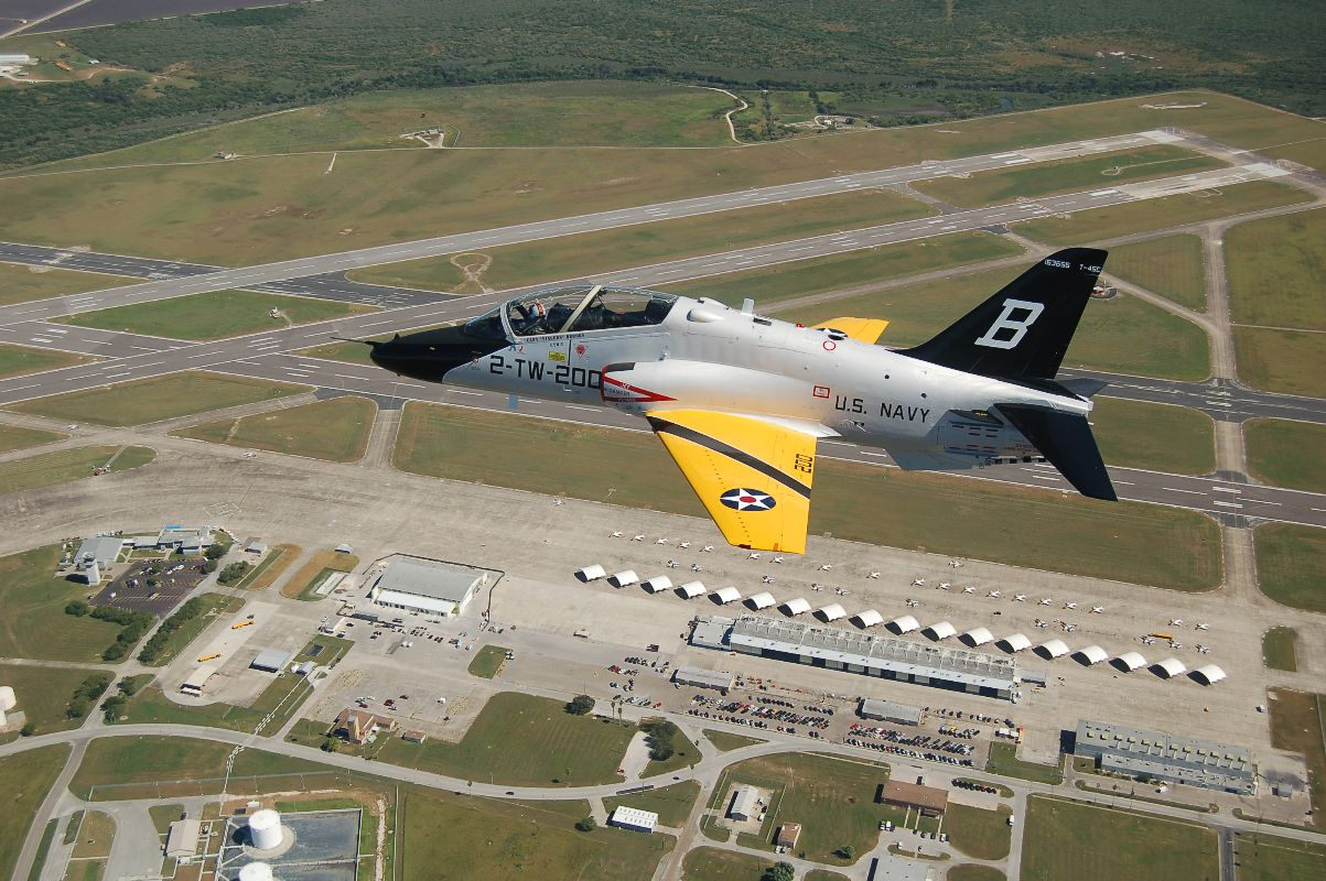 T-45 Goshawk Training Aircraft, NAS Kingsville