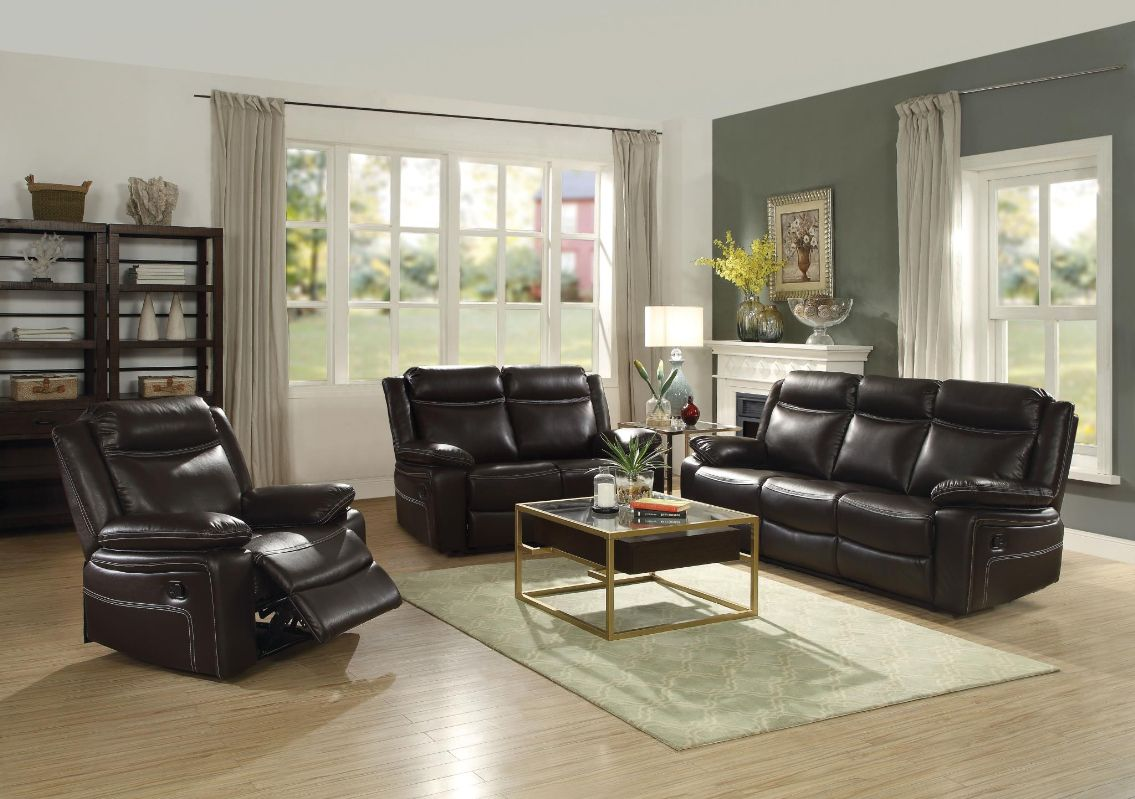 Double Reclining Sofa/Love/Recliner