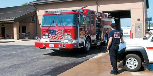 Ft Campbell Fire Department and Emergency