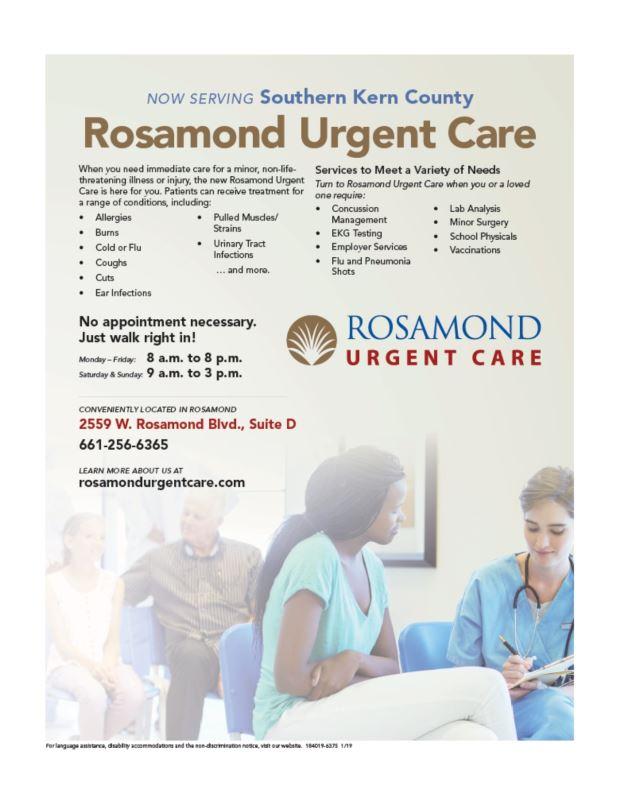 Rosamond UC