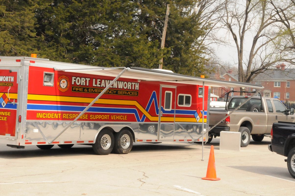Incident Response Support Vehicle, Fort Leavenworth