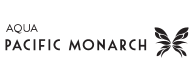 Aston Aqua Pacific Monarch logo