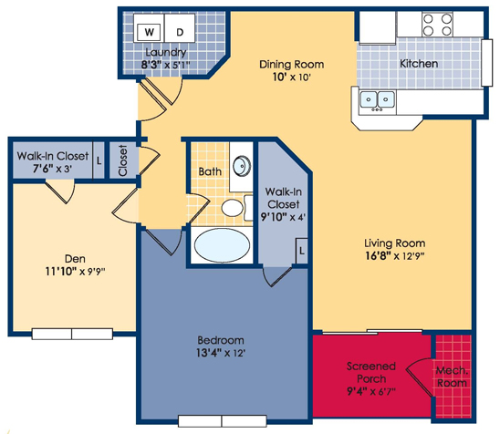 2 Bedroom The Federal