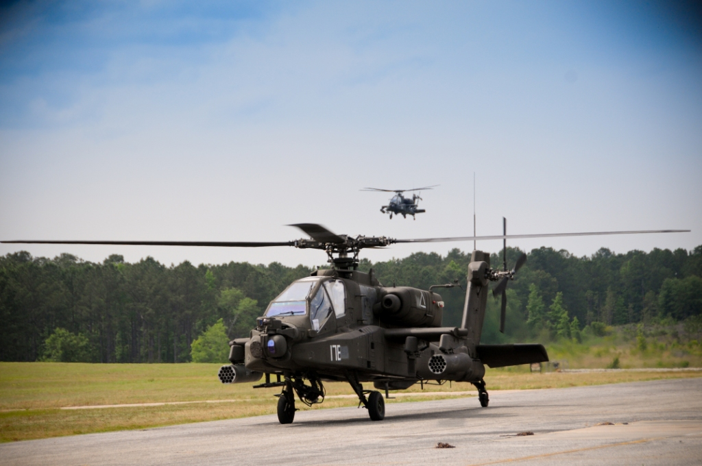 AH-64D Apache Helicopter, Fort Rucker