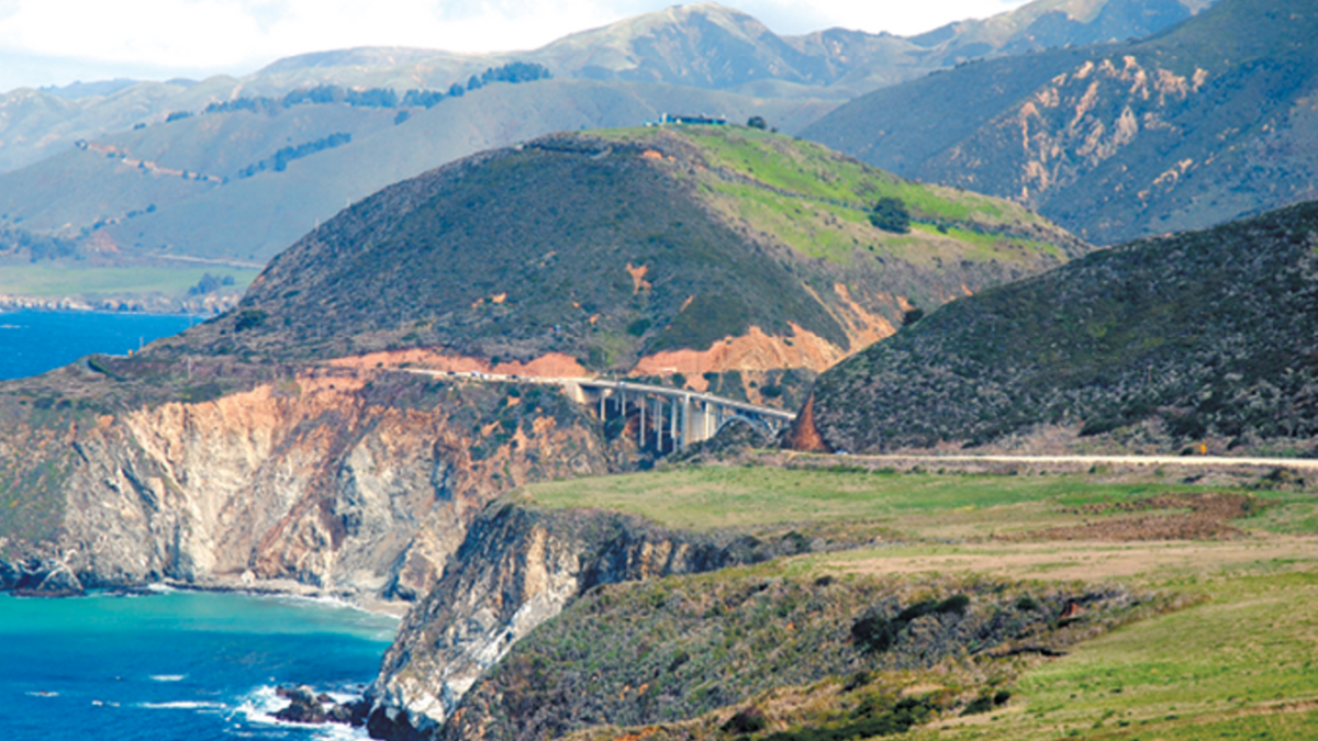 Big Sur - Bixby Creek Bridge, Edwards Air Force Base Southern California and Beyond