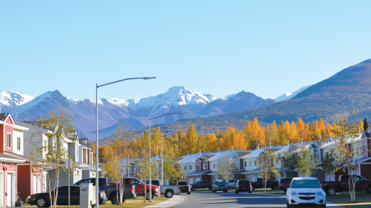 Military Housing in Alaska, Joint Base Elmendorf-Richardson, JBER