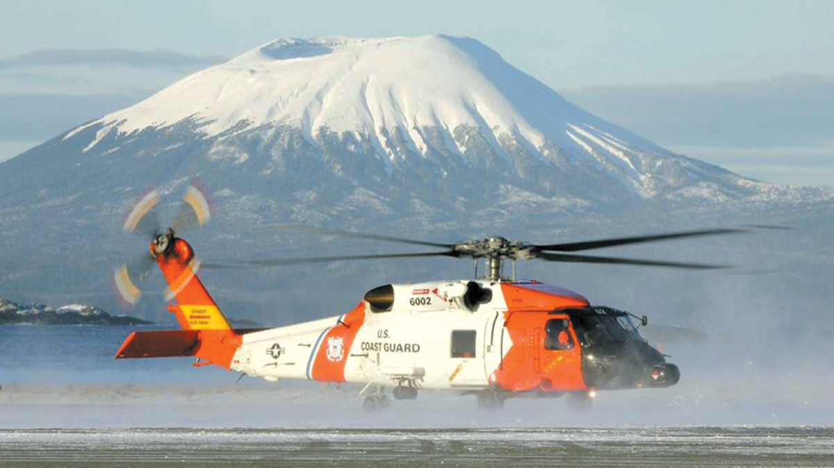 Coast Guard Helicopter, Joint Base Elmendorf-Richardson, JBER