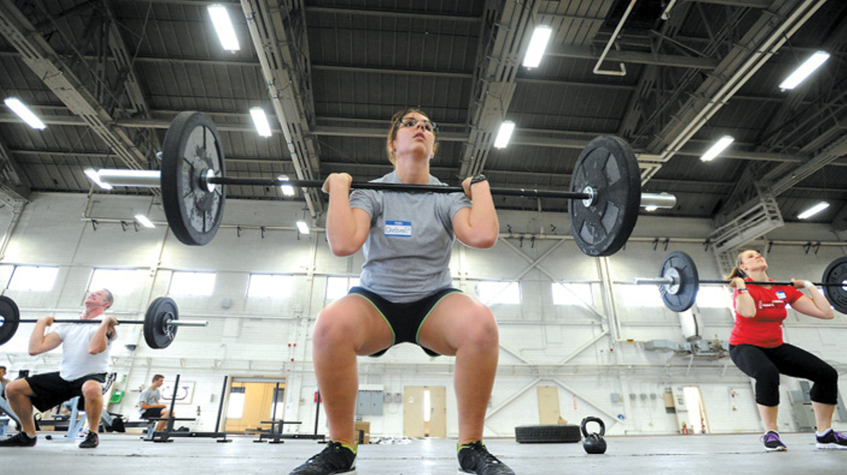 Weightlifting group, Joint Base Elmendorf-Richardson, JBER