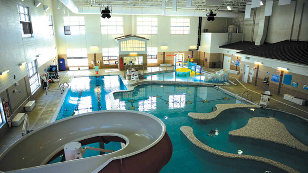 Indoor water park, Joint Base Elmendorf-Richardson, JBER