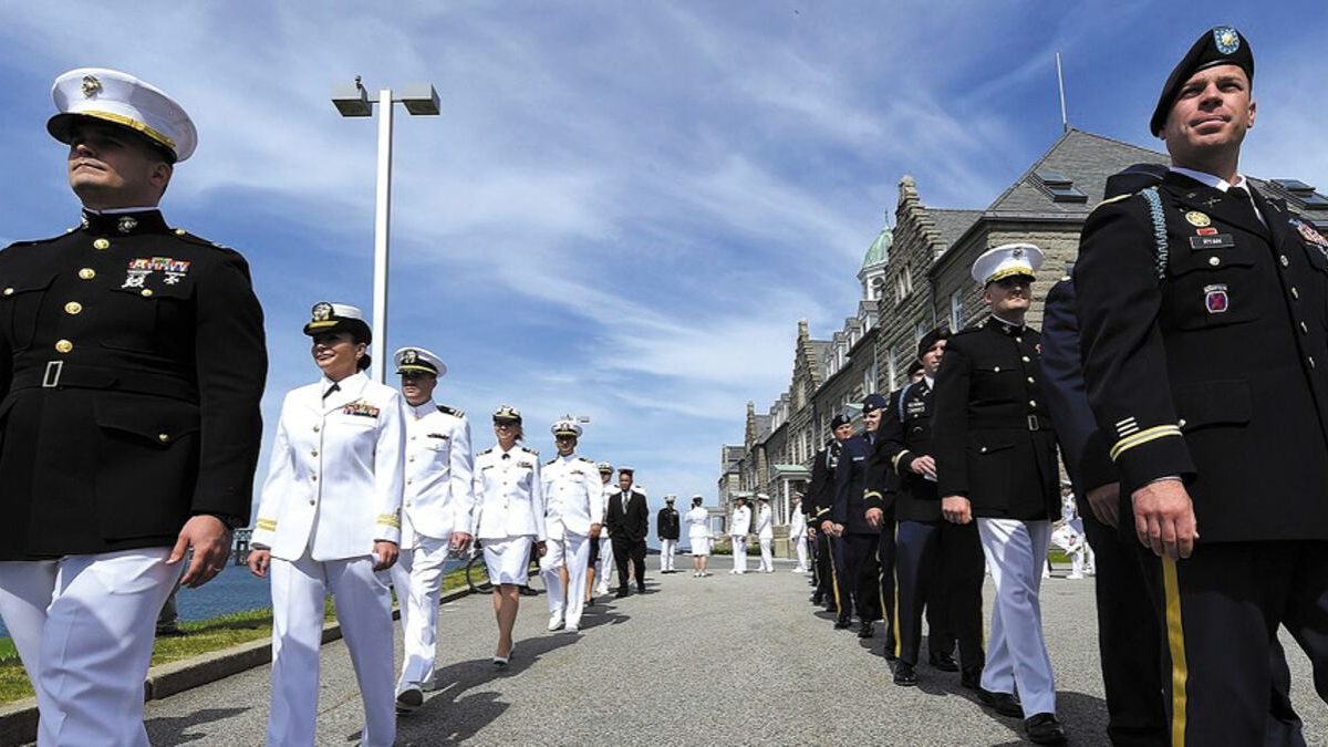 NS Newport Commands Navy Band Northeast