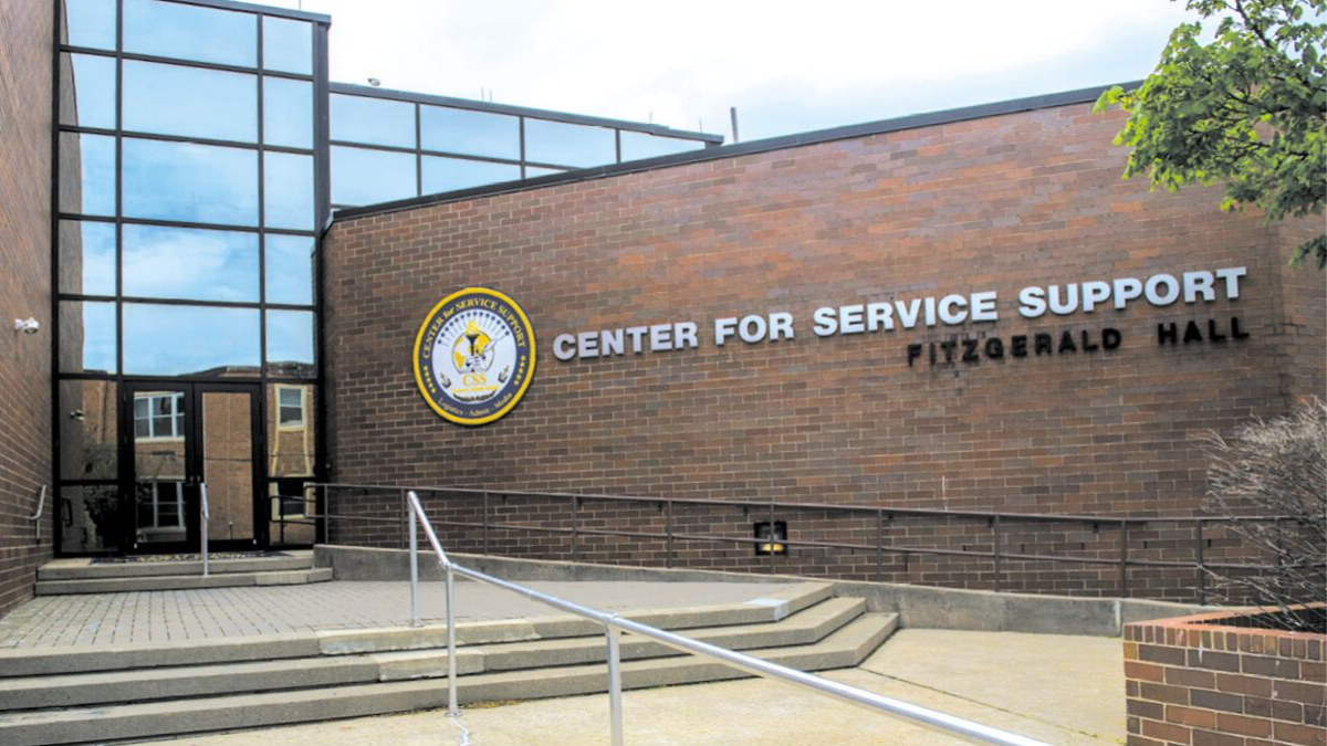NS Newport Commands Center for Service Support