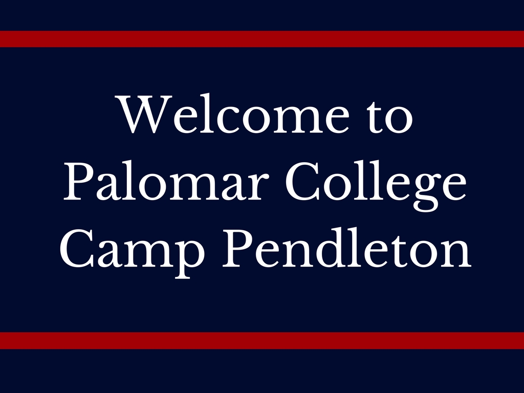 Palomar College Camp Pendleton