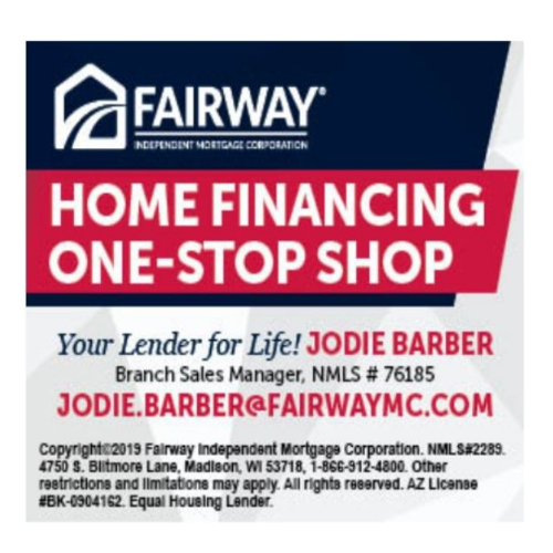 Jodie Barber Military Specialist Fairway Independent Mortgage WA