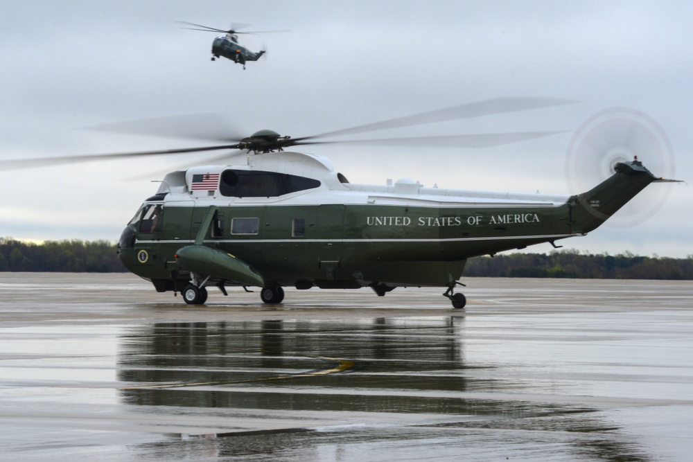 Marine One, Andrews Air Force Base Mission